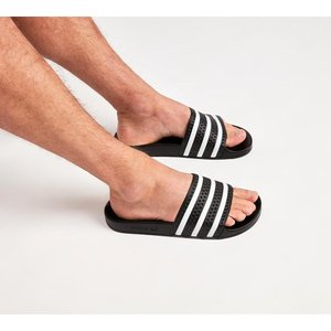 アディダス メンズ サンダル シューズ・靴 Adilette Slide Sandal Black / White|fermart-hobby