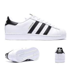 アディダス adidas Originals メンズ スニーカー シューズ・靴 superstar trainer White/Core Black|fermart-hobby