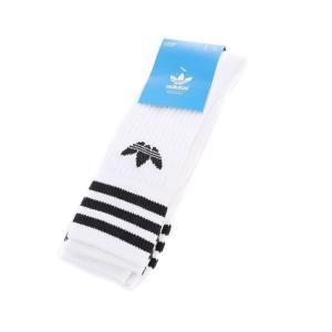アディダス adidas Originals メンズ ソックス インナー・下着 Solid Crew 3 Pack Sock White|fermart-hobby