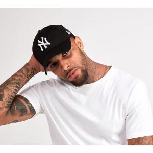 ニューエラ New Era メンズ サンバイザー 帽子 940 Curved Visor Cap Black|fermart-hobby