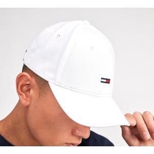 トミー ヒルフィガー メンズ キャップ 帽子 Classic Flag Logo Cap White|fermart-hobby