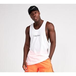 カルバンクライン メンズ タンクトップ トップス CK Logo Vest White fermart-hobby