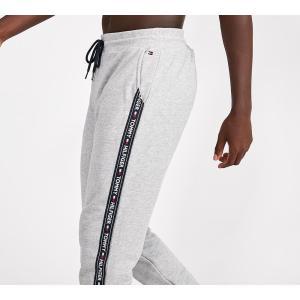 トミー ヒルフィガー Tommy Hilfiger メンズ スウェット・ジャージ ボトムス・パンツ Tape Logo Jog Pant Grey Heather|fermart-hobby