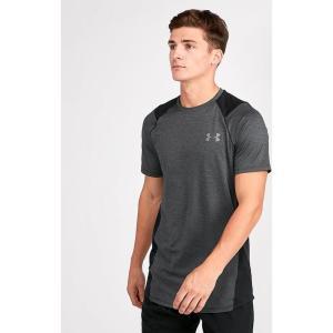 アンダーアーマー Under Armour メンズ Tシャツ トップス MK-1 T-Shirt Black/Black|fermart-hobby