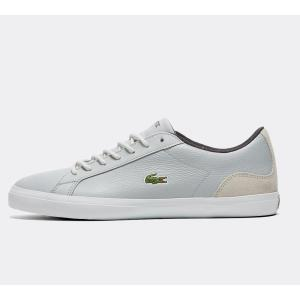 ラコステ Lacoste メンズ スニーカー シューズ・靴 lerond 318 leather trainer Grey/White|fermart-hobby
