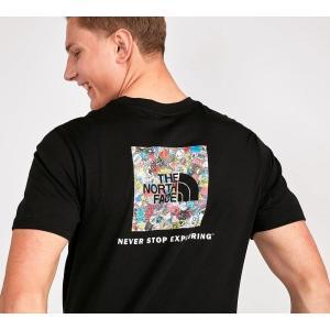 ザ ノースフェイス The North Face メンズ Tシャツ トップス redbox t-shirt Black/Stick fermart-hobby