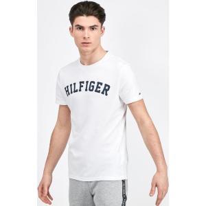 トミー ヒルフィガー Tommy Hilfiger メンズ Tシャツ トップス logo t-shirt White|fermart-hobby