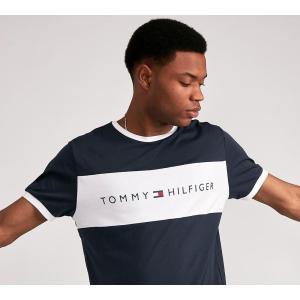 トミー ヒルフィガー Tommy Hilfiger メンズ Tシャツ トップス Retro Ringer T-Shirt NAVY|fermart-hobby