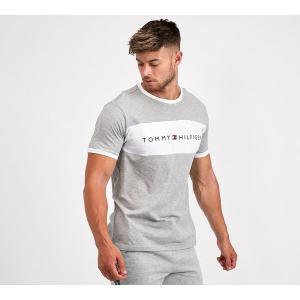 トミー ヒルフィガー Tommy Hilfiger メンズ Tシャツ トップス retro ringer t-shirt Grey Heather|fermart-hobby