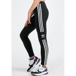アディダス adidas Originals レディース スパッツ・レギンス インナー・下着 3-stripes legging Black|fermart-hobby