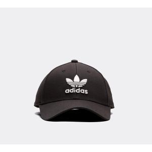 アディダス adidas Originals メンズ キャップ 帽子 Baseball Classic Trefoil Cap Black / Black|fermart-hobby