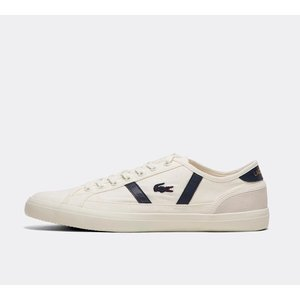 ラコステ Lacoste メンズ スニーカー シューズ・靴 Sideline Leather Trainer White / Navy / White|fermart-hobby
