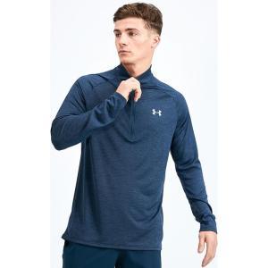アンダーアーマー Under Armour メンズ Tシャツ ハーフジップ トップス tech quarter zip t-shirt Navy|fermart-hobby