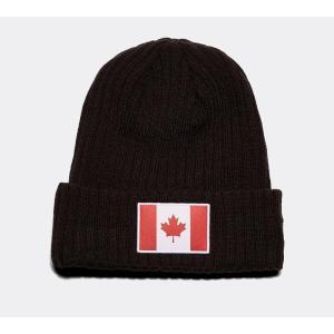 ニューエラ New Era メンズ ニット 帽子 Canada Beanie Hat Black fermart-hobby