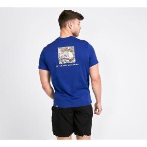 ザ ノースフェイス The North Face メンズ Tシャツ トップス Redbox T-Shirt Lapis / Stickerbomb|fermart-hobby