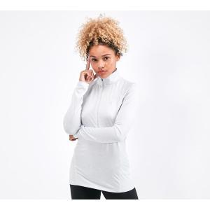 アンダーアーマー Under Armour レディース Tシャツ ハーフジップ トップス tech twist 1/2 zip t-shirt Grey|fermart-hobby