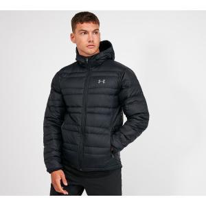 アンダーアーマー Under Armour メンズ ダウン・中綿ジャケット アウター down hooded jacket Black|fermart-hobby