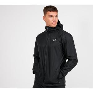 アンダーアーマー Under Armour メンズ レインコート アウター forefront rain jacket Black fermart-hobby
