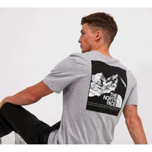 ザ ノースフェイス The North Face メンズ Tシャツ トップス mountain explorer t-shirt Grey Heather|fermart-hobby