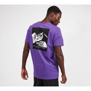 ザ ノースフェイス The North Face メンズ Tシャツ トップス mountain explorer t-shirt Purple/Black|fermart-hobby
