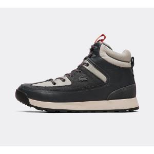 ラコステ Lacoste メンズ スニーカー シューズ・靴 urban breaker trainer Grey/Dark Grey|fermart-hobby