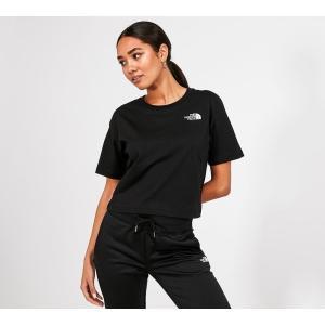 ザ ノースフェイス The North Face レディース ベアトップ・チューブトップ・クロップド トップス Cropped Simple Dome T-Shirt Black fermart-hobby