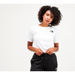 ザ ノースフェイス The North Face レディース ベアトップ・チューブトップ・クロップド トップス cropped t-shirt White/Black fermart-hobby