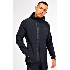 アンダーアーマー Under Armour メンズ ジャケット アウター qualifier outrun the storm jacket Black/Black|fermart-hobby