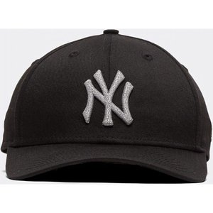 ニューエラ New Era メンズ サンバイザー 帽子 9forty curved visor cap Black/White/Reflective|fermart-hobby