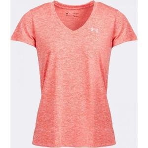 アンダーアーマー Under Armour レディース Tシャツ Vネック トップス Tech Twist V-Neck T-Shirt Beta Red|fermart-hobby