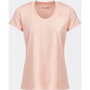 アンダーアーマー Under Armour レディース Tシャツ Vネック トップス Tech Twist V-Neck T-Shirt Pink fermart-hobby
