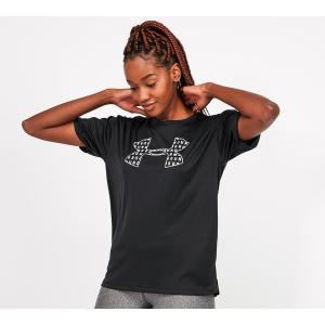 アンダーアーマー Under Armour レディース Tシャツ トップス performance fashion graphic t-shirt Black fermart-hobby
