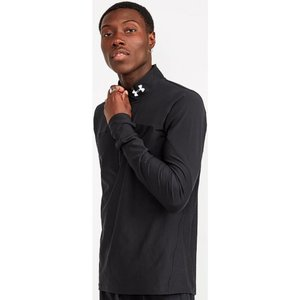 アンダーアーマー Under Armour メンズ Tシャツ トップス Qualifier Half Zip T-Shirt Black|fermart-hobby