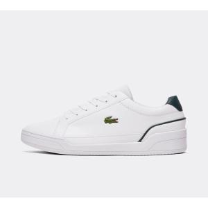 ラコステ Lacoste メンズ スニーカー シューズ・靴 challenge 0120 2 trainer White/Dark Green|fermart-hobby
