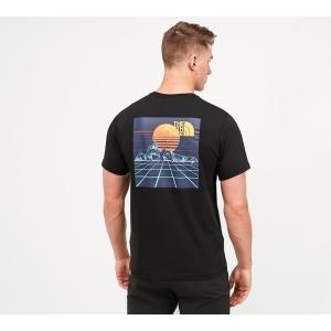 ザ ノースフェイス The North Face メンズ Tシャツ トップス throwback graphic t-shirt Black fermart-hobby