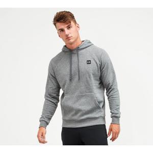 アンダーアーマー Under Armour メンズ パーカー トップス rival fleece overhead hoodie Pitch Grey fermart-hobby