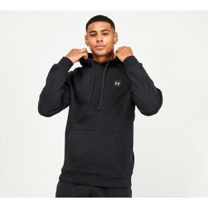 アンダーアーマー Under Armour メンズ パーカー トップス rival fleece overhead hoodie Black fermart-hobby