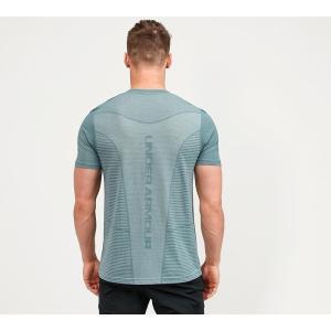 アンダーアーマー Under Armour メンズ Tシャツ トップス seamless logo t-shirt Electric Blue fermart-hobby
