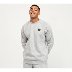 アンダーアーマー Under Armour メンズ スウェット・トレーナー トップス rival fleece crew sweatshirt Halo Grey fermart-hobby