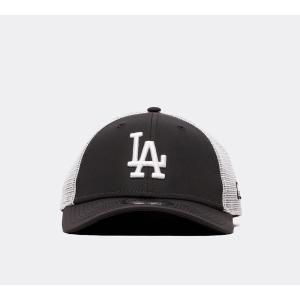 ニューエラ New Era メンズ キャップ 帽子 9forty la trucker cap Black/Grey|fermart-hobby