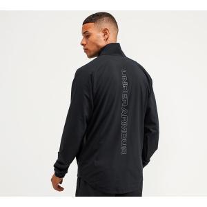 アンダーアーマー Under Armour メンズ ジャケット アウター summer woven jacket Black fermart-hobby