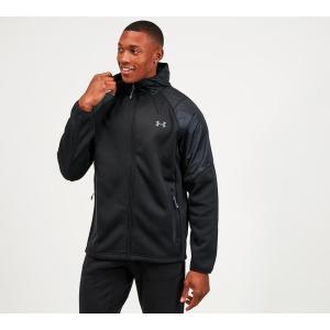 アンダーアーマー Under Armour メンズ ジャケット アウター coldgear swacket Black|fermart-hobby