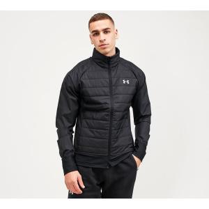 アンダーアーマー Under Armour メンズ ジャケット アウター run insulate hybrid jacket Black|fermart-hobby