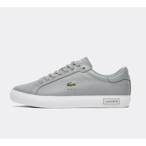 ラコステ Lacoste メンズ スニーカー シューズ・靴 powercourt trainer Grey/White fermart-hobby