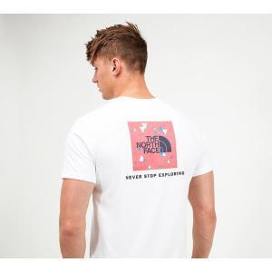 ザ ノースフェイス The North Face メンズ Tシャツ トップス redbox digi t-shirt White/Red fermart-hobby