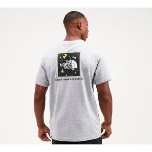 ザ ノースフェイス The North Face メンズ Tシャツ トップス redbox digi t-shirt Grey Heather/Black fermart-hobby