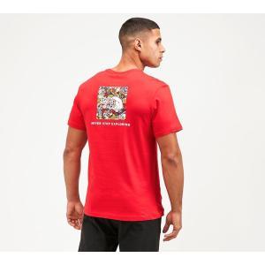 ザ ノースフェイス The North Face メンズ Tシャツ トップス redbox t-shirt Red fermart-hobby