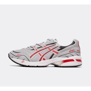 アシックス Asics メンズ スニーカー シューズ・靴 gel-1090 trainer Grey/Black/Red|fermart-hobby