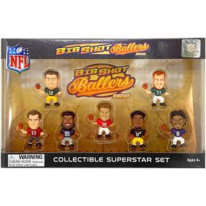 NFL フィギュア Big Shot Ballers Mini-Figurines Gift Set|fermart-hobby