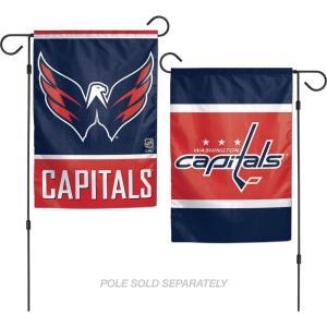 ワシントン キャピタルズ Washington Capitals グッズ 2-Sided Garden Flag|fermart-hobby